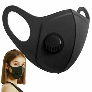 Breathable Air Flow Surgical Mask Washable Mouth Face Protection With Filter UK