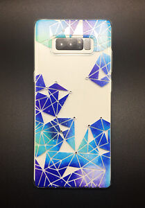 Crystals Case - Diamond Series Soft Slim Protective Cover for Samsung Note 8