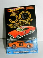 HOT WHEELS CUSTOMS '69 DODGE CHARGER General Lee The Dukes of HAZZARD