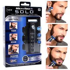 MicroTouch Micro Touch SOLO Electric Shaver Trim Men's Razor + 3 trimming comb