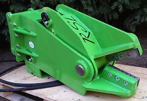 RSL excavator steel metal shear cutter for machines from 4.5t cut 35mm rebar