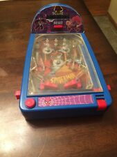 Spider-Man Table Top Pinball Machine (Toy Biz, 1995) Battery Operated Untested