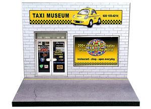 Diorama présentoir Taxi Museum - 1/43ème - #43-2-A-A-038