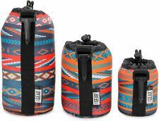 FlexArmor Protective Neoprene Lens Case Pouch Set 3 Pk Southwest Hold Lenses []