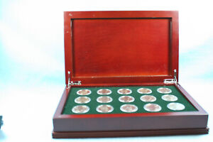Complete 15 Piece Susan B Anthony dollar Set in Display Box