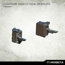 Legionary Assault Tank Sponsons: Lascannons - Kromlech