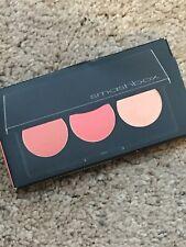 Smashbox LA Lights Blush & Highlight Palette Culver City 3 Shades Coral NIB