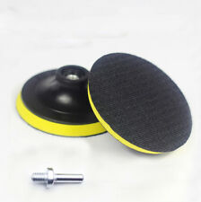 100mm Hook&Loop Backing Pad With Drill Attachment For Angle Grinder Sanding Disc