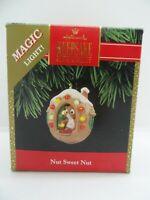 1992 Hallmark Keepsake Christmas Ornament Lighted Nut Sweet Nut Squirrel