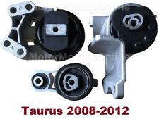 9M1192 3pc Motor Mounts fit 3.5L Engine 2008 - 2012 Ford Taurus NO TURBO Mounts