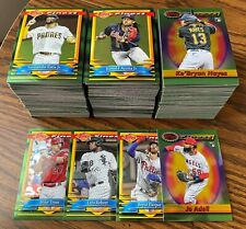 2021 Topps Finest Flashbacks COMPLETE YOUR SET Base Card #1-200 (YOU PICK)