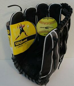 "Wilson Onyx Series 13"" Fastpitch Softball Outfield Glove, Left Hand Throw"
