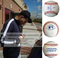 Jonathan Sanchez S.F. Giants Autograph Signed Baseball Exact Proof Photo COA