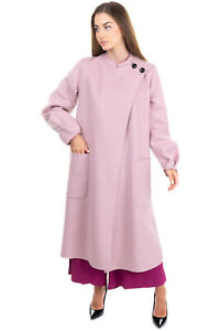 RRP €4560 GIORGIO ARMANI Cashmere Topcoat Size 44 / L Unlined Made in Italy