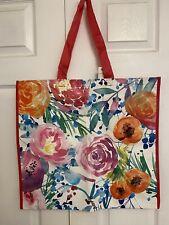 NEW Marshalls Shopping Bag Colorful Floral Print Reusable Tote