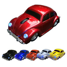 3D 1600DPI USB Optical 2.4Ghz Wireless Mouse VW Beetle Car Computer PC Mice Gift