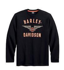 Harley-Davidson Long Sleeve Knit Shirt 99092-13VM SIZE MEDIUM