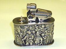 Kw (Karl Wieden) table semi-automatic lighter W. 835 Silver Case & in rilievo - 1930
