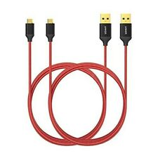2x Anker Micro USB Kabel 1.8M High Speed Sync und Ladekabel Samsung HTC Android