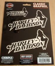 New Harley Davidson Motorcycle Logo Emblem Decal Car Truck Window Sticker 8109
