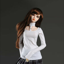 Dollmore 26inch doll clothes outfits Model F - TNY0F Long T (White)