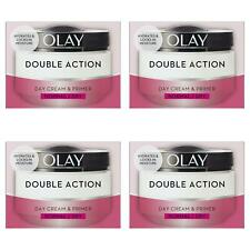 4 Olay Double Action Moisturiser Day Cream & Primer Normal Dry Skin Classic 50ml