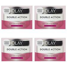 4 Olay Double Action Moisturiser Day Cream & Primer Normal Dry Skin Classic 50ml