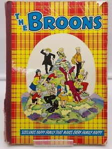VINTAGE THE BROONS 1963/1964 DUDLEY D WATKINS COMPLETE READING COPY