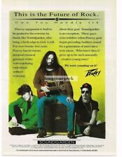 1994 Peavey Speakers Amps Kim Thayil Chris Cornell Soundgarden Magazine Ad