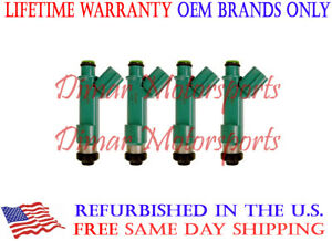 DENSO OEM Fuel Injector Set FITS 2005-2010 SCION Tc 2.4L