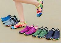 Men Women Water Shoes Aqua Sock Yoga Exercise Pool Beach Swim Slip On Surf Shoes