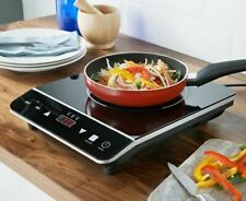 NEW DIGITAL ELECTRIC SINGLE 2000W INDUCTION HOB HEATING LED DISPLAY POWERFUL