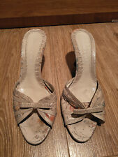 Charles and Keith cream shoe size M RRP 109.95
