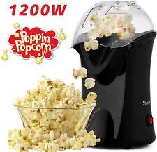 Professional Retro Popcorn Maker Machine Hot Air Popper Machine 1200W Healthy EU