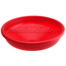 New Replacement Red plastic drinker bowl for our 30l Tripod poultry drinkers