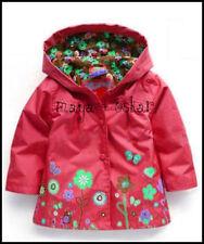 Manteaux, vestes et tenues de neige rouge avec capuche pour fille de 2 à 16 ans