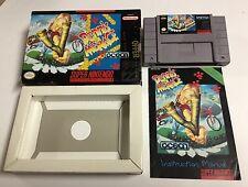 DENNIS THE MENACE (Super NES Nintendo SNES) Complete Promotional NFR Box