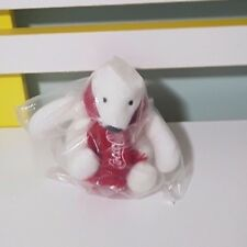 COCA COLA POLAR BEAR PROMOTIONAL TOY COLLECTABLE SOFT TOY PLUSH TOY 11CM TALL!