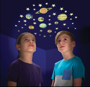 Original Glow Stars - Glow in the Dark Stars and Planets - Bedroom Decorations