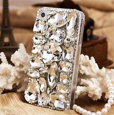 Glitter Luxury Crystal Bling Rhinestone Diamonds Soft TPU Gel Case Cover BO-8