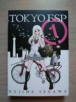 Tokyo Esp 1, Shonen Manga, English, 13+, Hajime Segawa