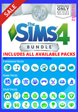 🔥 The Sims 4 + All Expansions + ALL Game Packs + Last Update | Windows ONLY!