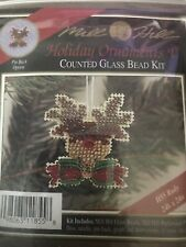 Mill Hill Beaded Cross Stitch Kit Holiday Ornaments V Rudy H55