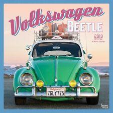 VOLKSWAGEN BEETLE - 2019 WALL CALENDAR - BRAND NEW - VW CLASSIC VINTAGE 075338