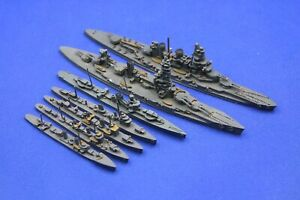 Superior / Ensign Japanese WW2 Squadron 1:1200 / 1250 Waterline Model Ships