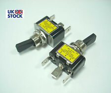 12V 30A DC Interruptor ON-OFF Amarillo Luz LED 12V 30A ASW-07D HQ RoHS