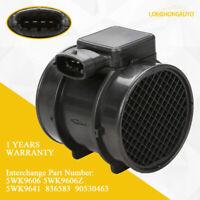 Mass Air Flow Meter MAF Sensor For Vauxhall Opel Astra Vectra 5WK9606Z 5WK9641