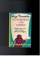 Luigi Pirandello - Humoresken und Satiren - 1960