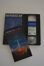 Independence Day (VHS, 1996,w/ 3D Holographic, Will Smith, Jeff Goldblum
