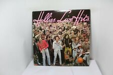 hollies live hits LP
